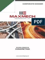 Maxmech Corporate Brochure