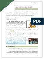 HABIL. GIMNAST. + ACTIVIDAD FÍSICA Y SEDENTARISMO