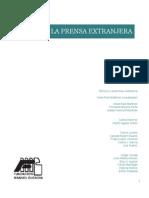 Libro Mexico y La Prensa Extranjera