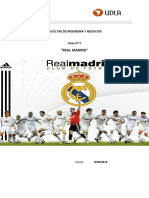 Análisis Caso Real Madrid