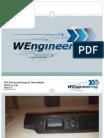 Einbauanleitung WIC BMW E6x