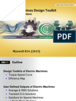 Electric Machine Design ANSYS Maxwell ToolkitTuTo