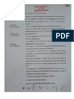 Conseil Constitutionnel - Décision 1 E 2019 – Candidatures Presidentielle Senegal