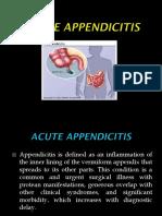 Acute Appendicitis Responsi