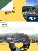 Pengelolaan Museum Batur - Ver 2
