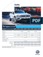 Tiguan Service Pricing Guide