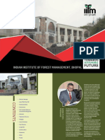 IIFM Admission for PGDSM – Post Graduate Diploma in Sustainability Management