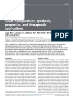 Silver Nanoparticles as a New Generation of Antimicrobials