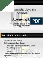 programação java e android