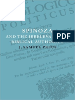 J. Samuel Preus - Spinoza and the Irrelevance of Biblical Authority (2009).pdf