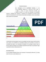 Piramide de Maslow - OLD