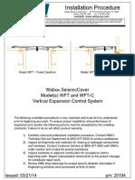 WaboSeismicCover WFT-WFTC Install PDF