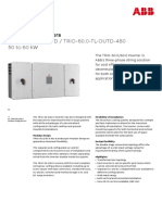 ABB string inverters Trio