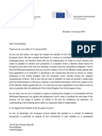 Response From President Juncker and President Tusk to the Prime Minister