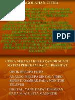 PENGOLAHAN CITRA 1