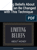 Limiting Beliefs About Money and Success