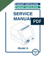 SLE 4000-5000 Infant Ventilator - Service Manual