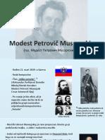 Modest Musorgski
