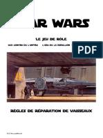 SW JdR Réparation Des Vaisseaux