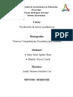 10 Nuevas Competencias de Philippe Perrenoud,