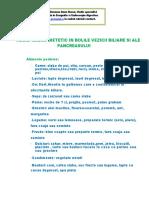 Regim Igieno - Dietetic -  Bolile Vezicii Biliare Si Ale Pancreasului