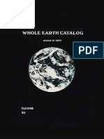 Brand Stewart Whole Earth Catalog Fall 1968