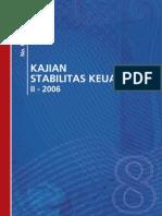 Bank Indonesia, Kajian Stabilitas Keuangan No. 8 Maret 2007