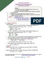 Cours - Chimie - Les Acides Et Les Bases - Bac Sciences Exp (2014-2015) Mr Nabil