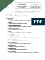 P COR SE 06.01 Plan de Contingencias
