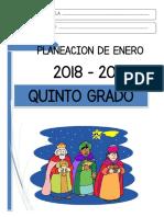 00 Enero - 5to Grado 2018.pdf