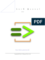ChucK Manual
