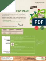 Bayer Jardin Natria - Désherbant polyvalent par contact - Fiche produit 2016