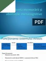 Eficienta Memorarii Si Abilitati Metacognitive-1