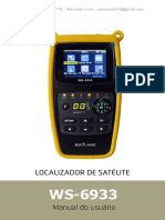 Manual de Usuario localizador satelite WS-6933