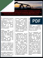 Análisis de la situación actual de PDVSA