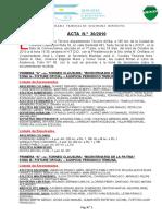 Acta Nº 30-2010