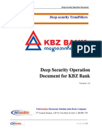 Deep Security Manager Operation