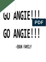 GO ANGIE