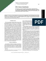 USP Definition of HPLC Column Classification