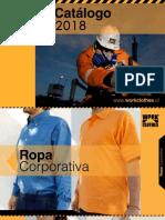 Catalogo  indumentaria trabajadores