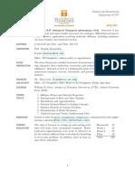 CBE 547 course outline (Syllabus)