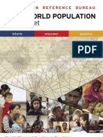 World Population Datasheet 2007