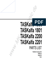 TASKalfa-1800-1801-2200-2201 parts list