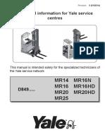 YALE (D849) MR20HD LIFT TRUCK Service Repair Manual.pdf