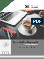 Derecho Constitucional I. Manual.