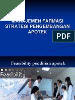 2. Feasibility Pendirian Apotik