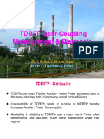 TDBFP Gear-Coupling Misalignment & Diagnosis-A Case Study
