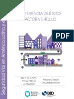 Experiencias de Exito en Seguridad Vial en America Latina y El Caribe Factor Vehiculo