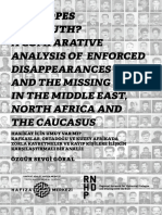Any Hopes for Truth? A Comparative Analysis of Enforced Disappearances and the Missing in the Middle East, North Africa and the Caucasus