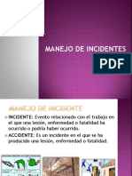 Manejo de Incidentes